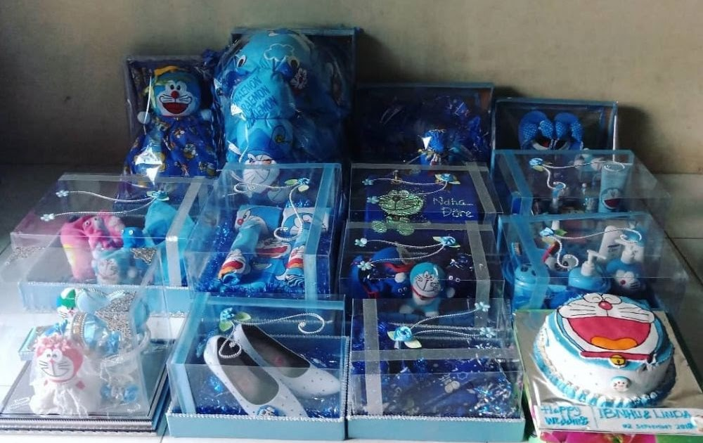 Paling Inspiratif Box Hantaran Doraemon - House on Street