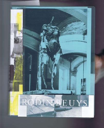 Transparent Folder : Rodin - Beuys by Russell Moreton