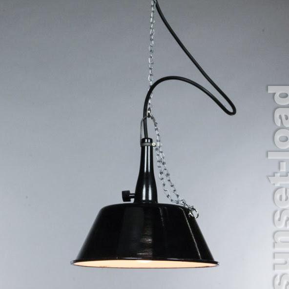emaille hänge lampe alte industrie design leuchte 30er