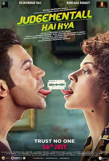Judgementall Hai Kya 2019 ORG Hindi Movie HDRip 480p 350MB ESubs