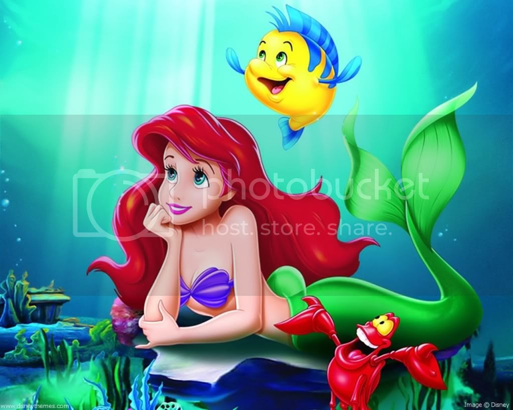 Little Mermaid Wallpaper  Disney Image