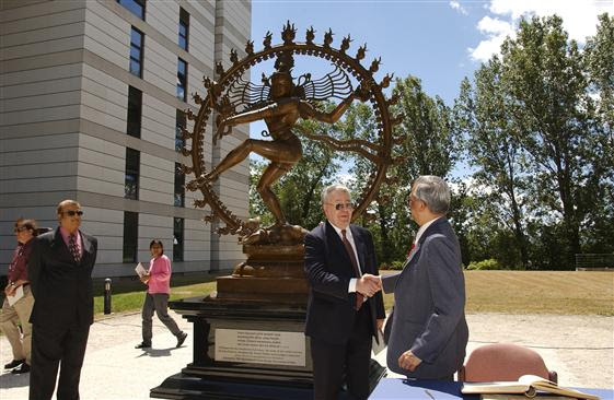 Image result for statue of shiva at cern