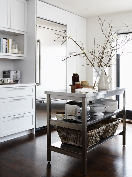 12 Freestanding Kitchen Islands - The Inspired Room
