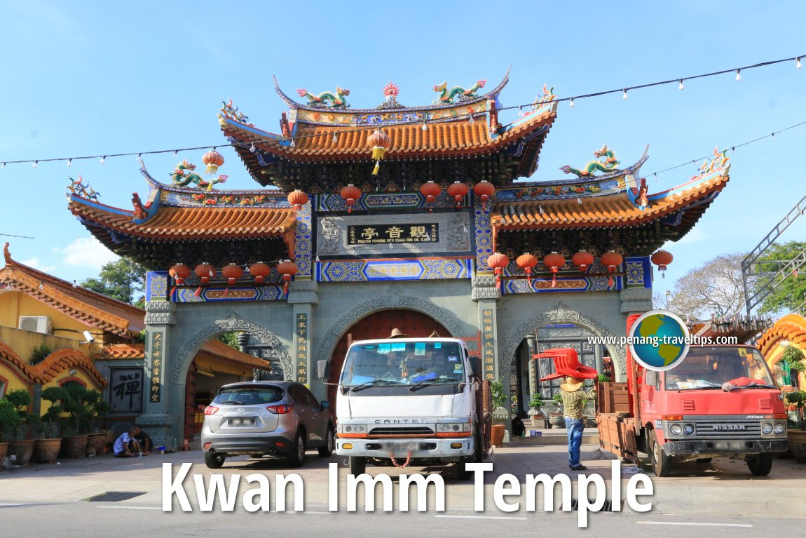 Chinese Temples In Klang