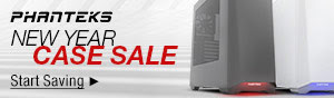 Phanteks - New Year Case Sale