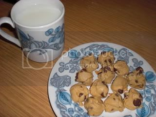 Mini cookies for one