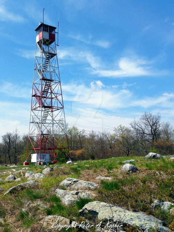 Catfish Fire Tower by peterkopher
