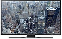 Samsung UN60JU6500 60-inch LED 4K Ultra HDTV - 3840 x 2160 - 120 Motion Rate - DTS Studio Sound - Wi-Fi - HDMI, Component, Composite