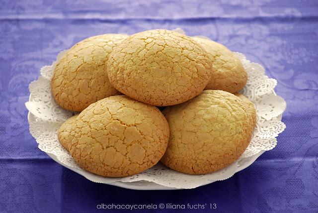 Lemon Verbena semolina cookies
