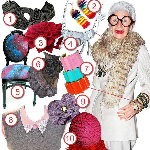 Iris Apfel · DIY The Look · Cut Out + Keep Craft Blog