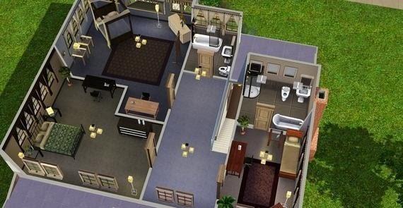 how to build sim 3 blueprint