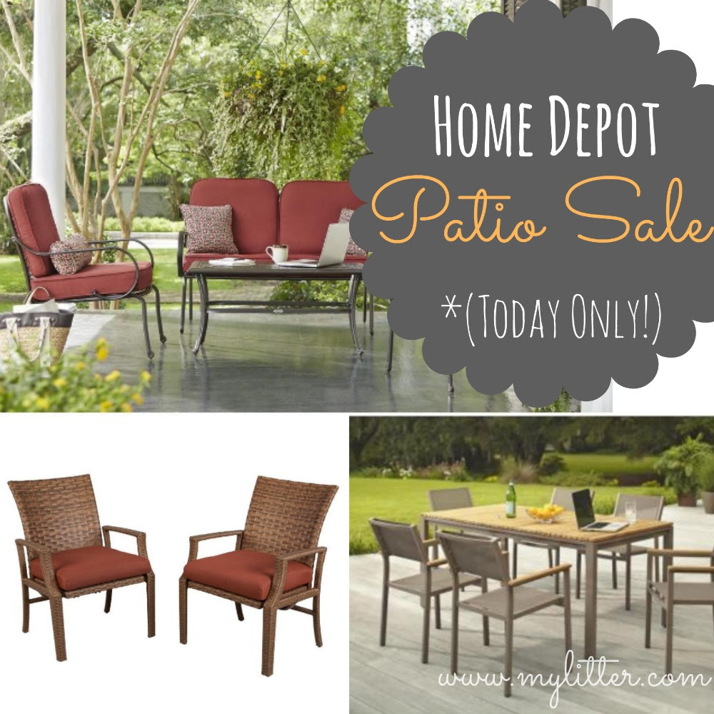 Home Depot Patio Furniture Sale | 50% OFF Sets Today Only!