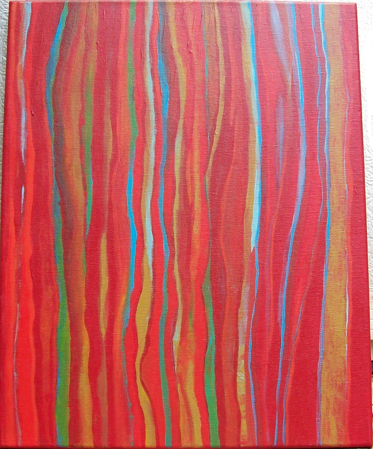 Contemporary Abstract Art Painting - Miles to go .... before I sleep
