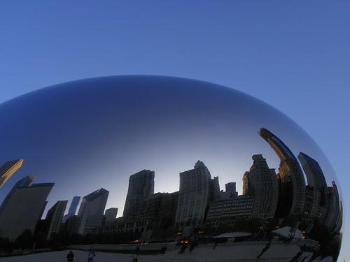 5.17.2009 Chicago Millenium Park (53) Cloud Gate ; The Bean