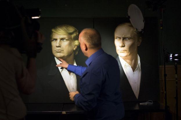 Por lo visto en campaña, Putin y Trump es de esperar que tengan una buena relación.