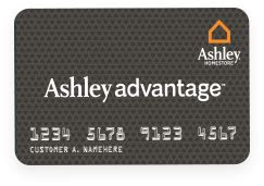 ashley advantage  financing quick easy approval