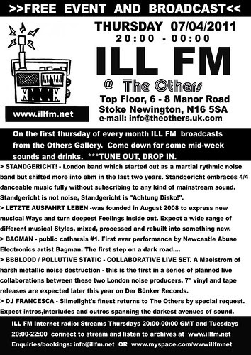 April 2011 - ILL FM by bbblood