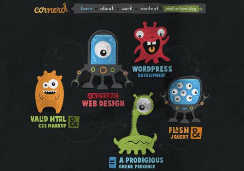 40 diseños web muy creativos - cornerd