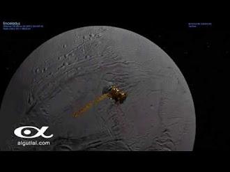 Podría haber vida en Encelado, Luna de Saturno
