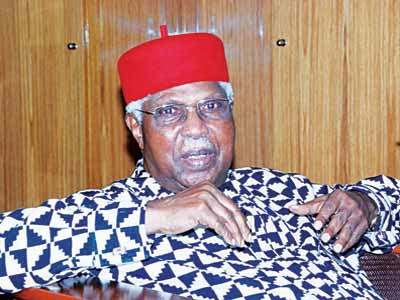Former Vice President Collapses at Home, Admitted in Enugu Hospital