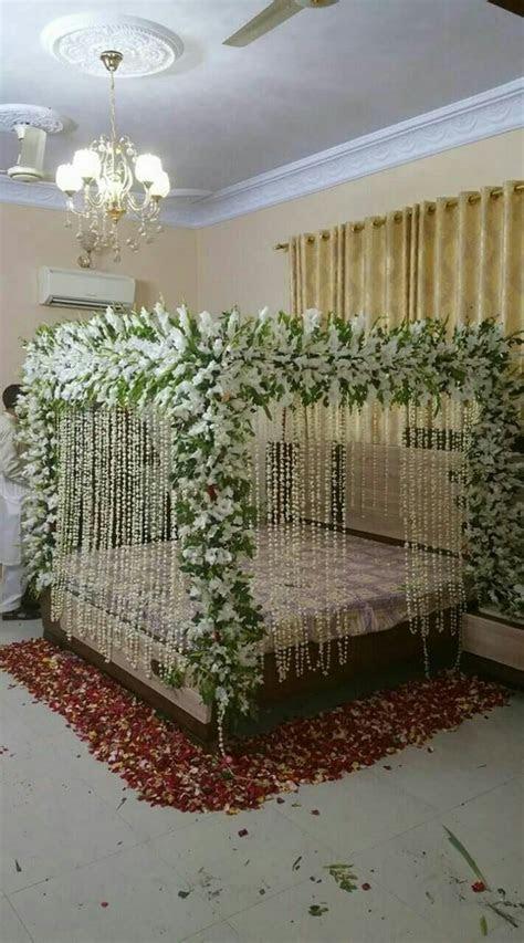 18 best wedding shadi Bed sej masehri Flower Decoration