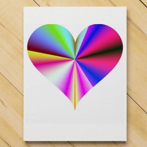 Rainbow Heart Chocolate Countdown Calendar