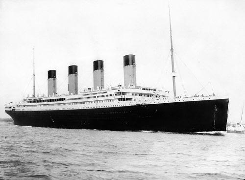 titanic: 1909