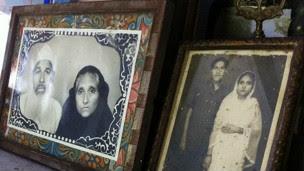 Retrato de casamento de Quadri e Begum | Foto: BBC
