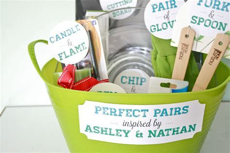 "DIY ""Perfect Pairs"" Bridal Shower Gift"