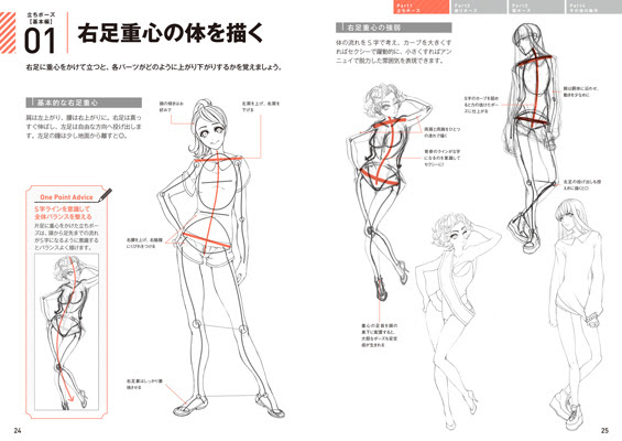 動きのあるポーズの描き方 女性キャラクター編電子有 書籍ムック