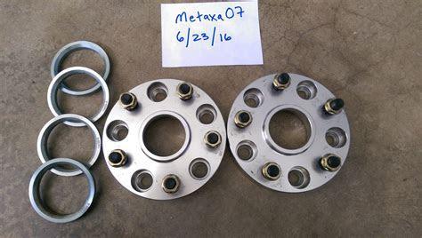 CA FS: 25mm spacers  hub centric, hub centric rings, lug