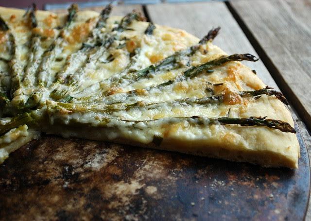 Asparagus Pizza 2