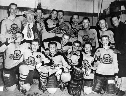 1953-54 Brandon Wheat Kings