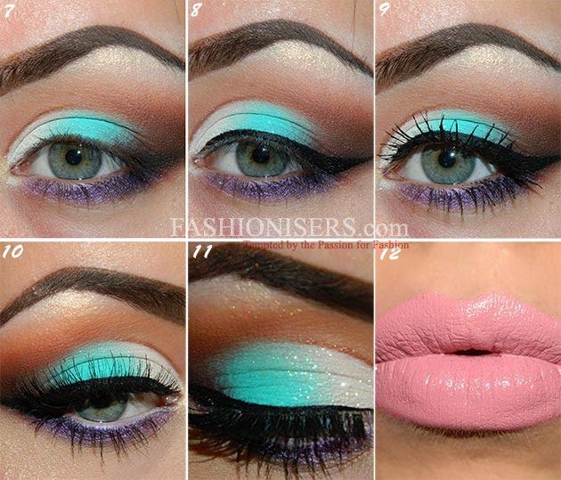 Energizing Mint Green Makeup Tutorial | Fashionisers©