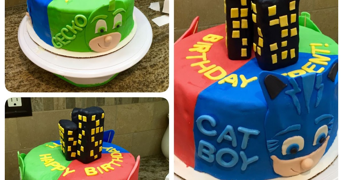 Seven Outrageous Ideas For Your Pj Masks Birthday Cake Pj Masks