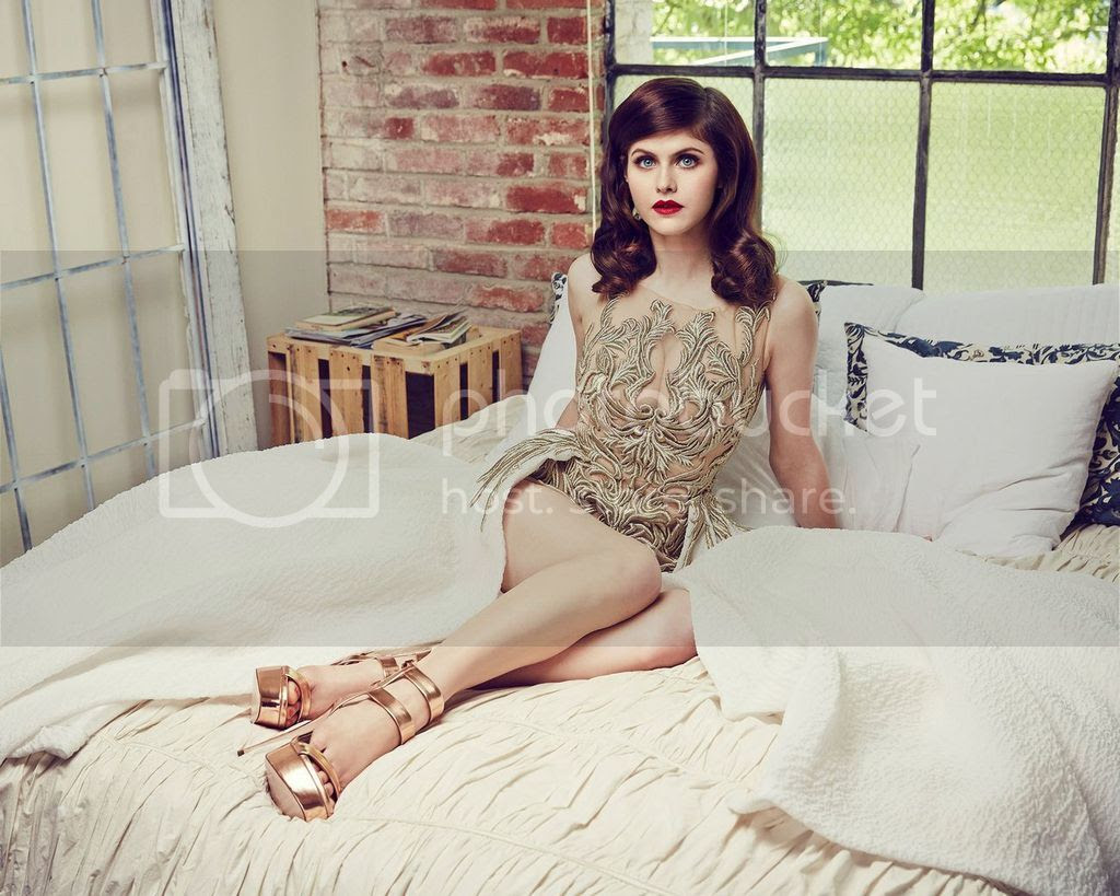 Alexandra Daddario Photoshoots at The Stndrd Magazine