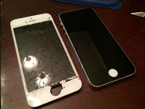 my iphone screen went black fraser valley iphone repair 17846