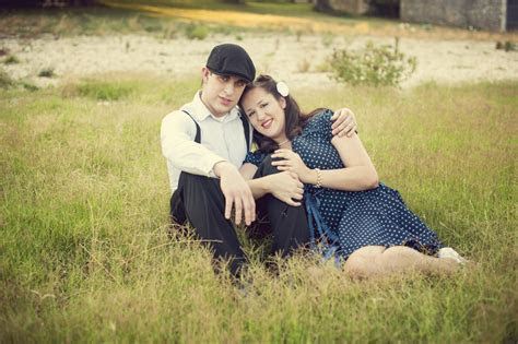 Capitol Inspiration: 1950s Themed Engagement Session, The