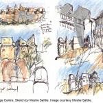 4129_2_2_Sketch by Moshe Safdie