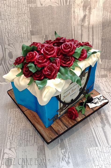 Large Floral Gift Bag Novelty Cake from £195 Feeds 60