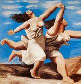 Running women (artist's impression)