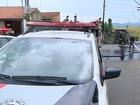 Família acusa polícia de agressão em S. José (Reprodução/TV Vanguarda)