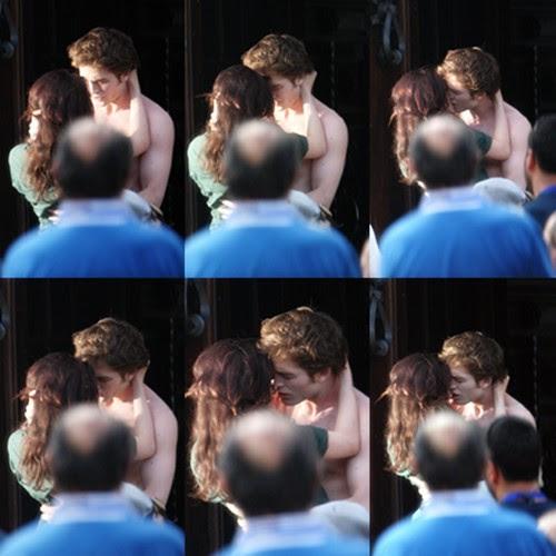 Kristen Stewart And Robert Pattinson Kissing In Public. Kristen Stewart and Robert