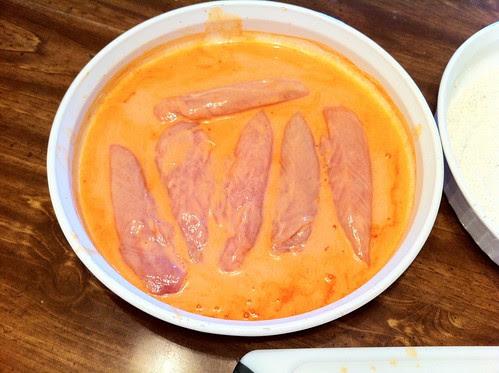 Chicken in Buttermilk Hot Sauce