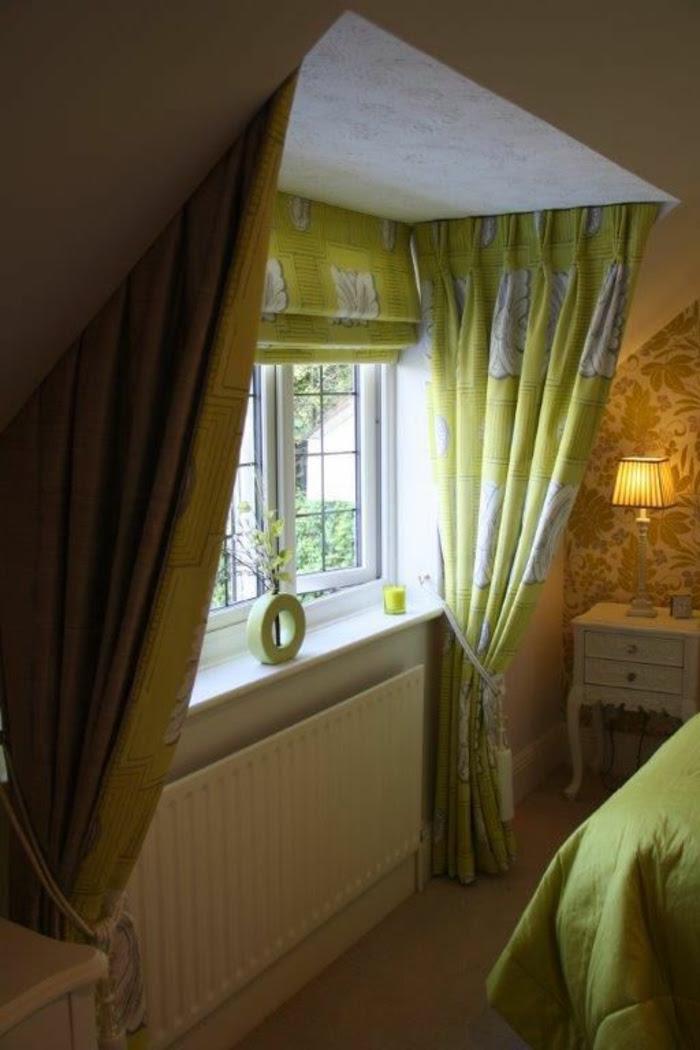 dachschräge schlafzimmer  1001 ideen für dachfenster