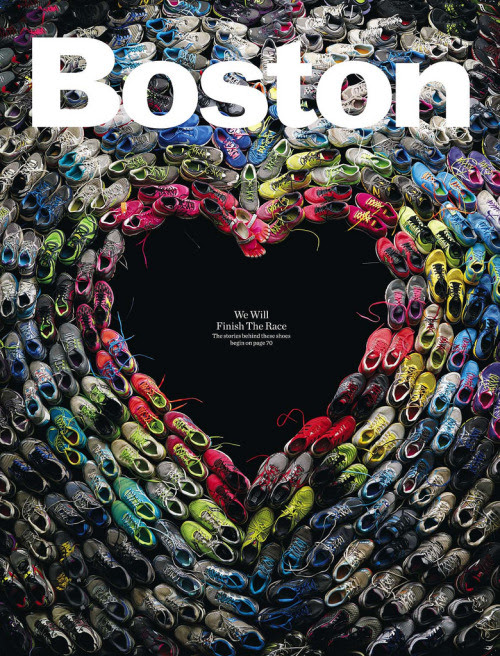 Boston magazine design