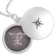 Pink Awareness Ribbon with Bible Verse Pendants