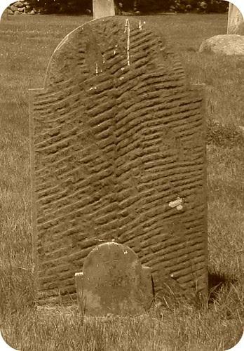 Behind the Gravestone by midgefrazel