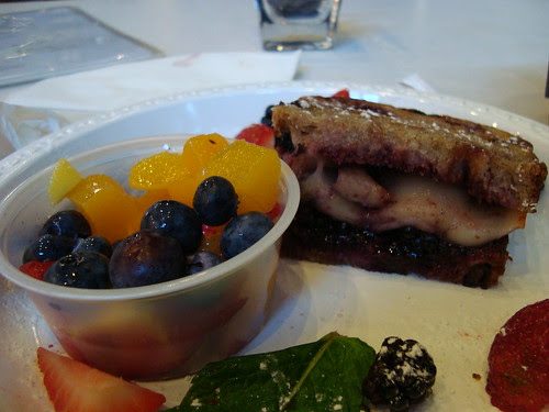 Grilled Blackberry + Side of Fruit