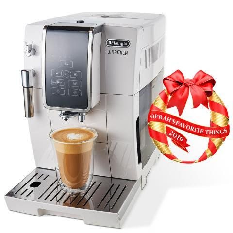 De'Longhi Dinamica Fully Automatic Coffee and Espresso Machine Selected as One of This Year's Oprah's Favorite Things